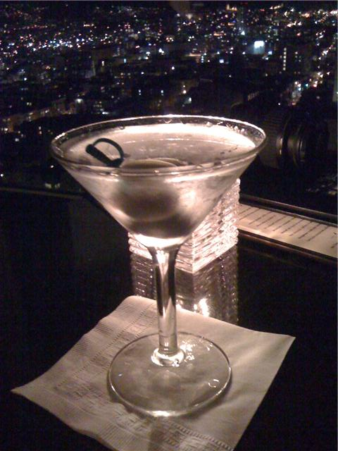 Martini at Top of the Mark, San Francisco - Photo by C. Sanchez, 2009