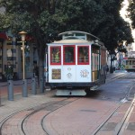 The cable cars of Powell and Market