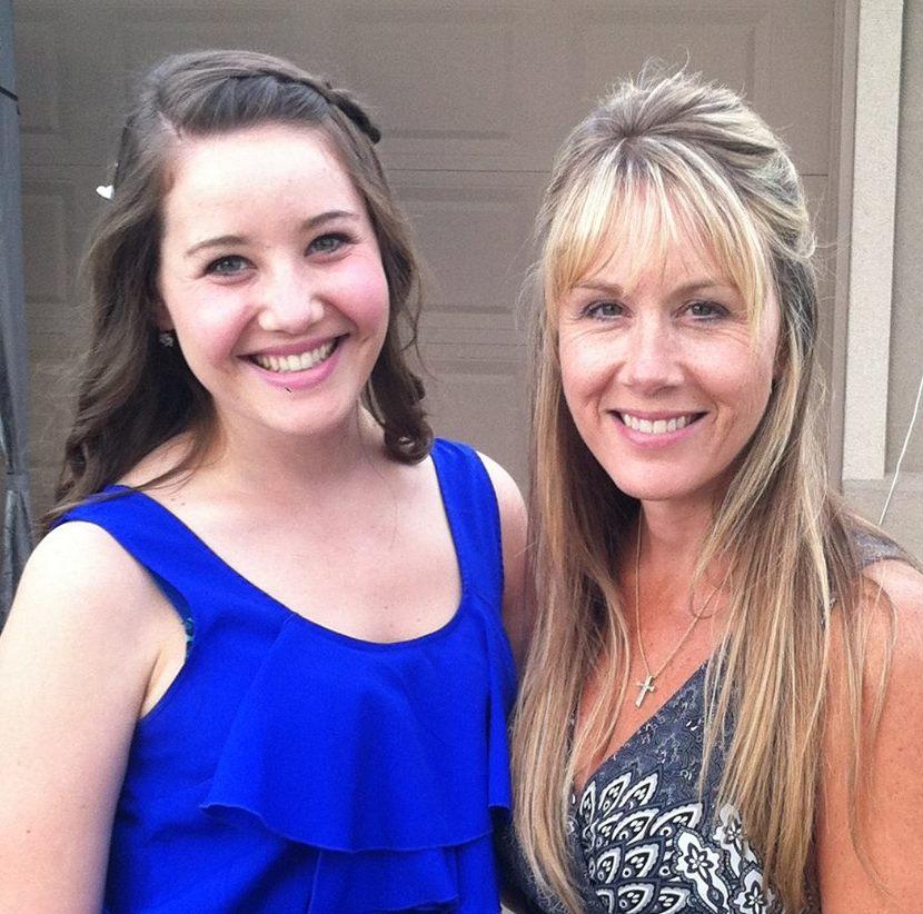 Debi and daughter closer up